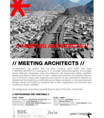 MEETING ARCHITECTS