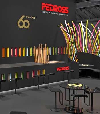 Pedross Messestand DOMOTEX 2016